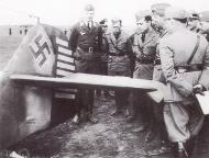 Asisbiz Aircrew Luftwaffe Bf 109F 5.JG77 (B5+ ) Hackl Crimea Russia Sep 1942 01