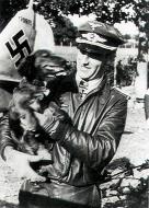 Asisbiz Aircrew Luftwaffe pilot Anton Hackl with JG76 Fw 190A8 WNr 170935 background 01