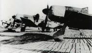 Asisbiz Focke Wulf Fw 190A 3.JG11 line up Geschwader yellow Reich band Husum 1944 02