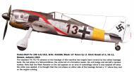 Asisbiz Focke Wulf Fw 190A5 2.JG11 Black 13 Erich Hondt WNr 410266 Husum 1943 0A