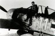 Asisbiz Focke Wulf Fw 190A7 10.JG11 white 11 Ludwig Bertram Aalborg Ost Denmark 1944 01