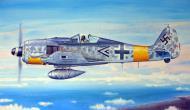 Asisbiz Focke Wulf Fw 190A7 Stab I.JG11 Gruppenkommandeur Hans Heinrich Koenig WNr 430489 May 1944 0A
