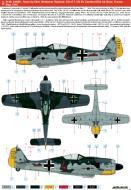 Asisbiz Focke Wulf Fw 190A7 6.JG26 Brown 4 Waldemar Radener WNr 340001 Cambrai AB France 4 May 1944 0B