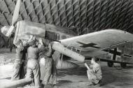 Asisbiz Focke Wulf Fw 190A8 II.JG26 aircraft being loaded with 21cm mortar France 1943 02