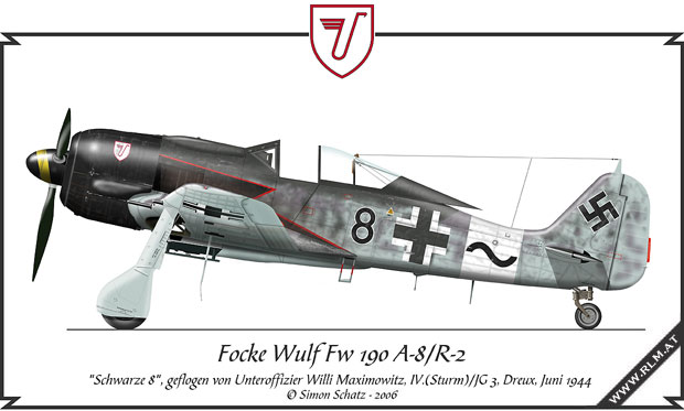 Image result for fw-190 A8 JG3