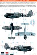 Asisbiz Focke Wulf Fw 190A8 11.(Sturm)JG3 (B13+~) Werner Gerth Germany July 1944 0A