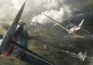 Asisbiz Art Osprey art Focke Wulf Fw 190A8 JG300 Blue 13 Walter Dahl 1944 0A