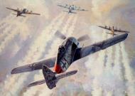 Asisbiz Art painting Focke Wulf Fw 190A8 5.JG300 Red 1 Klaus Bretschneider M499 Germany 1944 01