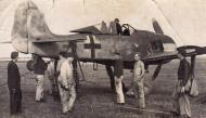 Asisbiz Focke Wulf Fw 190A 5.JG300 Red 3 Staka Konrad Pitt Bauer WNr 171641 under going gun alignment ebay 1944 01