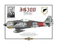 Asisbiz Focke Wulf Fw 190A7 5.JG300 Red 1 N Klaus Bretschneider Rheine 1944 0A