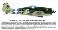 Asisbiz Focke Wulf Fw 190A8 7.JG300 (W6+ ) Gustav Salffner Lobnitz 1945 0A