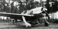 Asisbiz Focke Wulf Fw 190A8 8.JG300 (B4+ ) Victor Heimann Holzkirchen Munich 1944 01