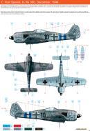 Asisbiz Focke Wulf Fw 190A8 8.JG300 (Red 10+ ) Karl Spenst Germany Nov 1944 0C
