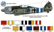 Asisbiz Focke Wulf Fw 190A8 JG300 Blue 13 Walter Dahl Juteborg 1944 0A