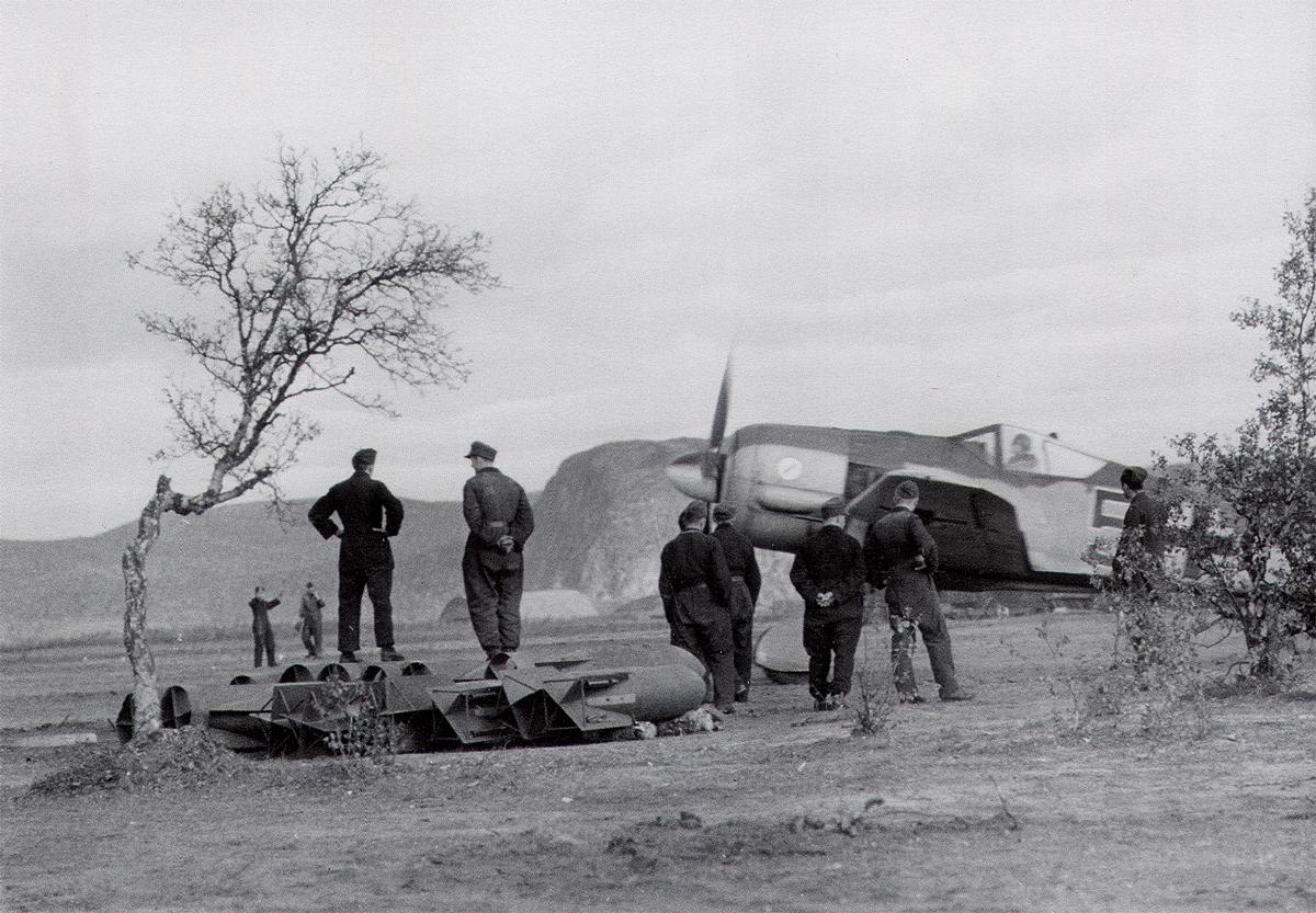 Focke Wulf Fw 190A3 14.JG5 Black 5 Strakeljahn Petsamo Finland 1943 01