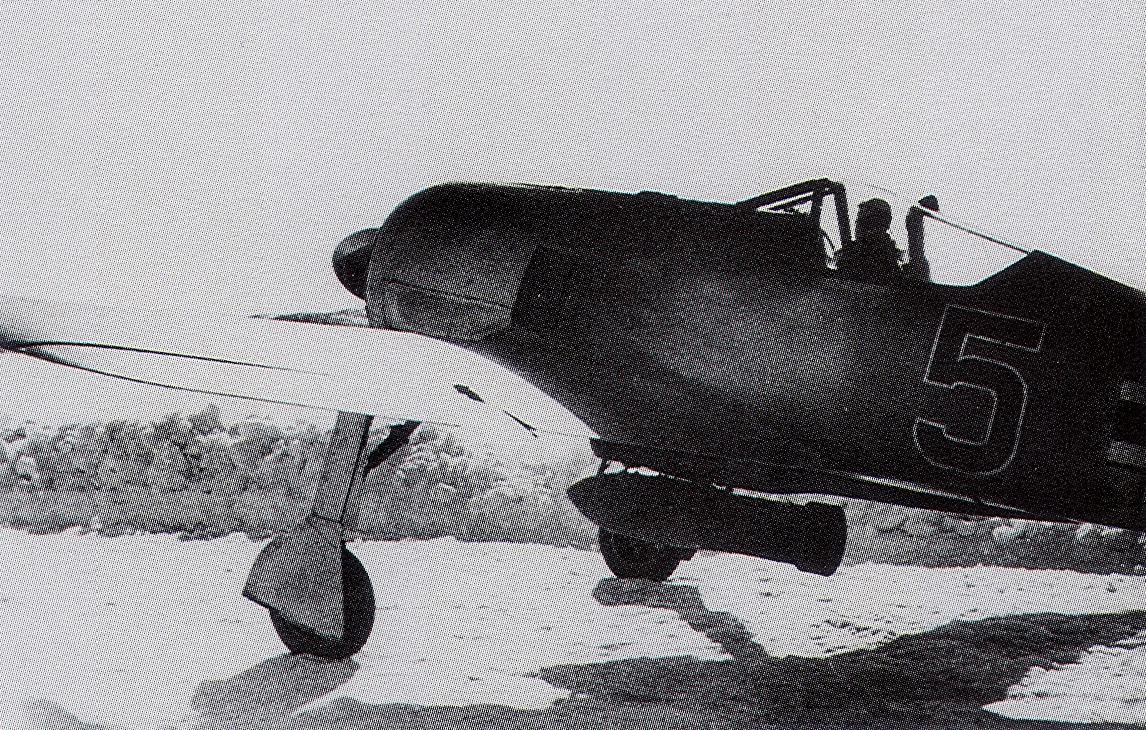 Focke Wulf Fw 190A3 14.JG5 Black 5 Strakeljahn Petsamo Finland 1943 02