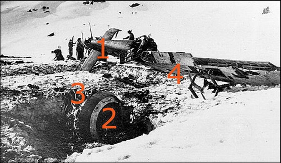 Focke Wulf Fw 190F8 9.JG5 (W1+o) Heinz Orlowski crash Norway 1944 01