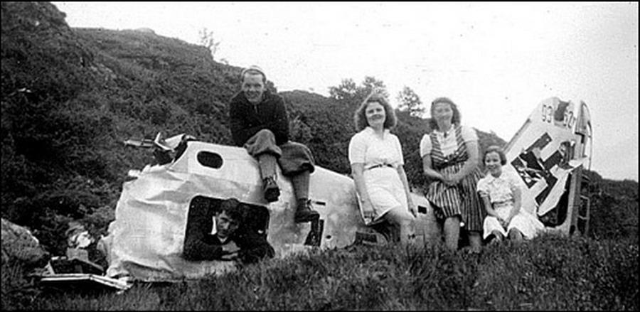 Focke Wulf Fw 190F8 9.JG5 (W1+o) Heinz Orlowski crash Norway 1944 03