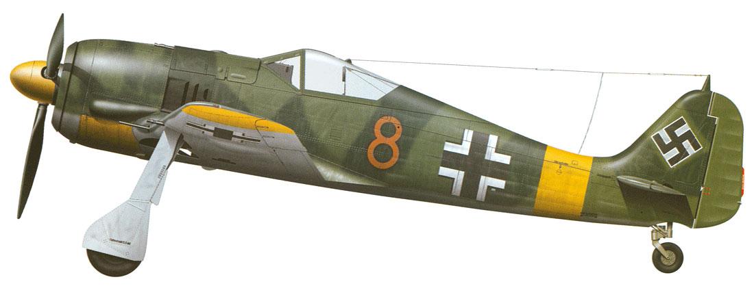 Focke-Wulf-Fw-190A4-III.JG51-Brown-8-Ore