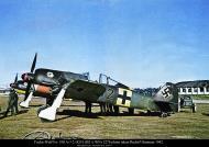 Asisbiz Focke Wulf Fw 190A3 2.JG51 (B2+) WNr 2278 Erich Pflaum 85km from St. Peterburg Sep 29th 1942 poster 01