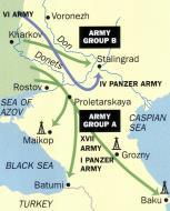 Asisbiz Artwork showing the map of Stalingrad July 1942 0A