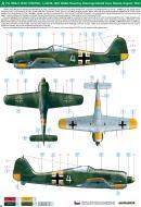 Asisbiz Focke Wulf Fw 190A5 1.JG54 (W4+) Walter Nowotny WNr 501501 Krasnogvardiesk Russia 1943 0A