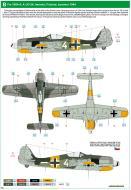 Asisbiz Focke Wulf Fw 190A5 4.JG54 (W4+ ) Immola Finland summer 1944 0C