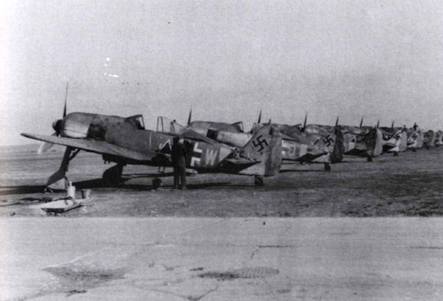Focke Wulf Fw 190F2 SG1 (^+W) Gruppe Deblin Irena Poland 1943 02