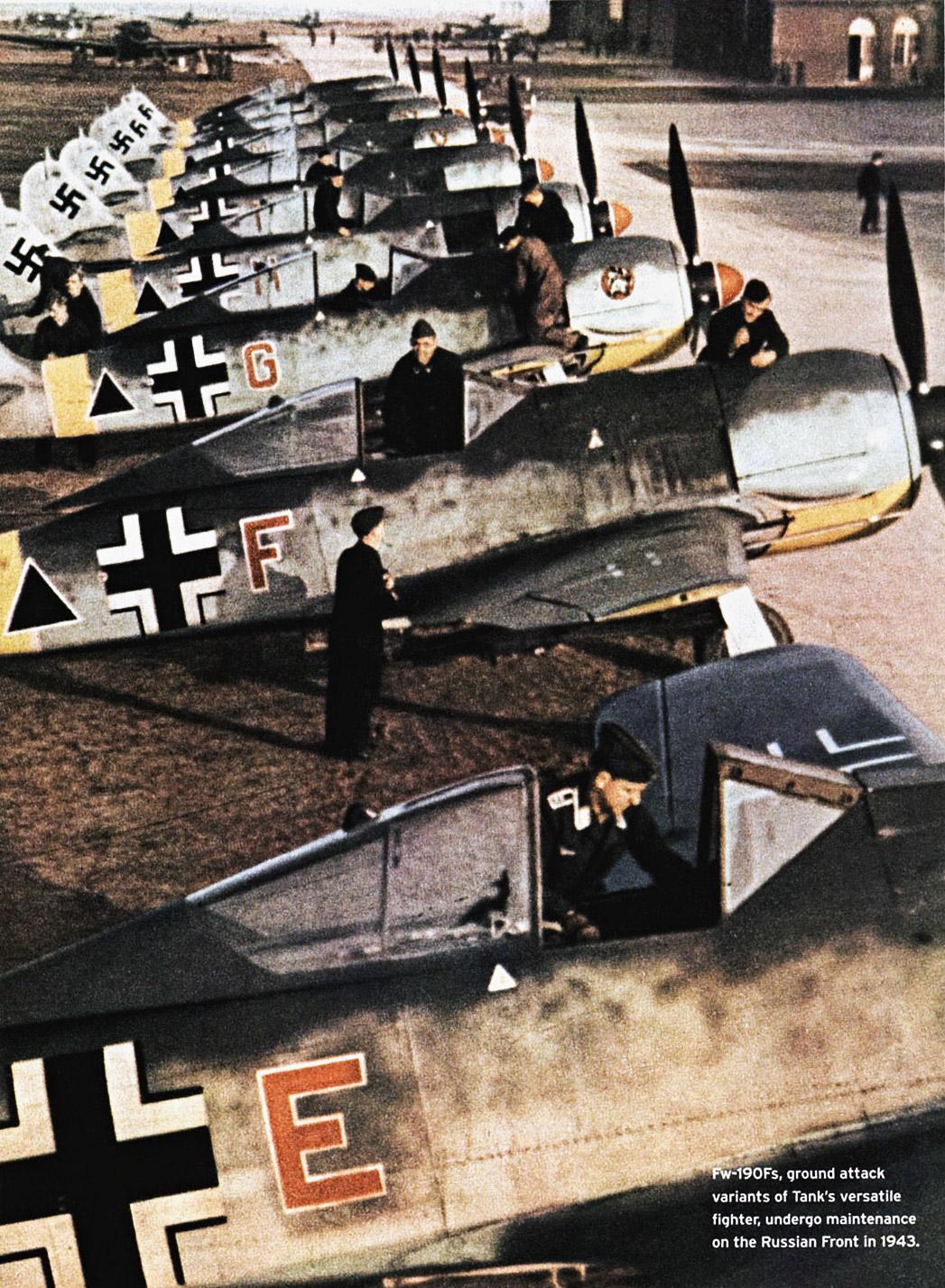 Focke Wulf Fw 190F2 SG1 Gruppe Deblin Irena Poland 1943 01