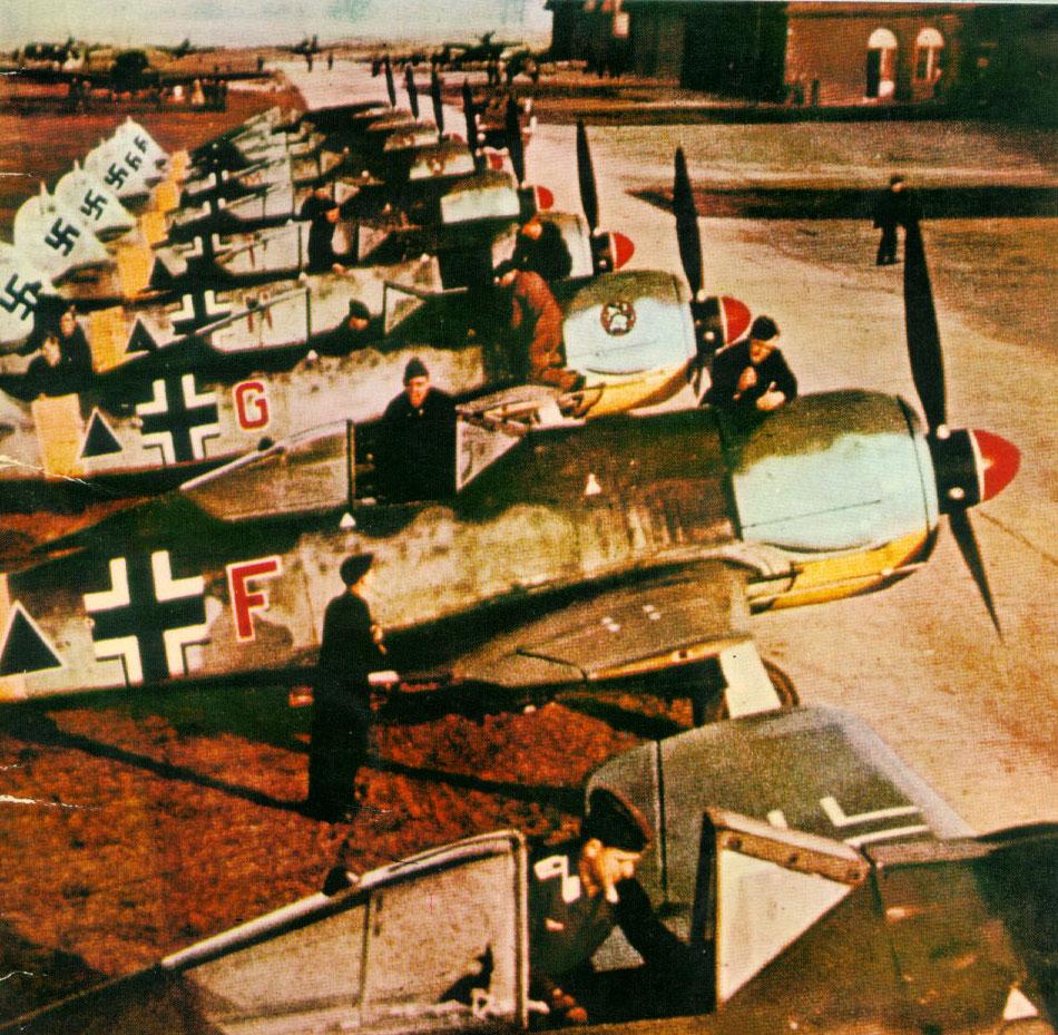Focke Wulf Fw 190F2 SG1 Gruppe Deblin Irena Poland 1943 02