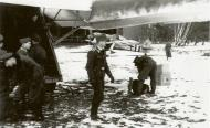 Asisbiz Focke Wulf Fw 190A6 ST1 pilots getting ready for another mission Dortmund 1944 01