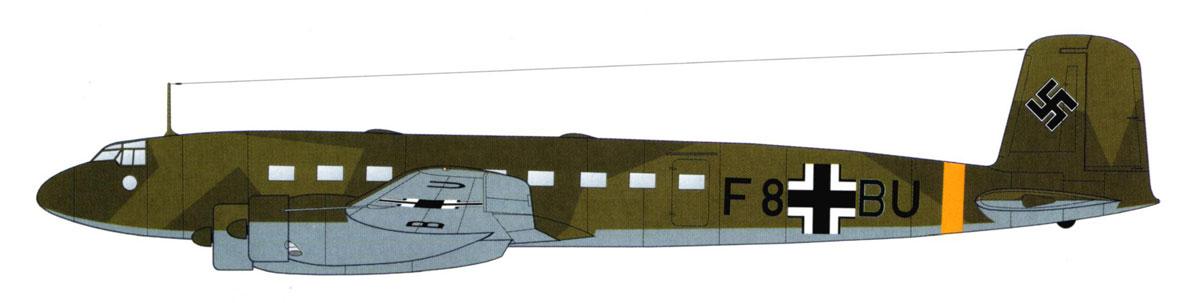 Focke Wulf Fw 200C Condor 10.KG40 (F8+BU) Athens Eleusis 1941 0A