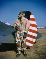 Asisbiz Aircrew Curtiss P 40CU Hawk with Lt Gilbert L Meyers Iceland 1942 01