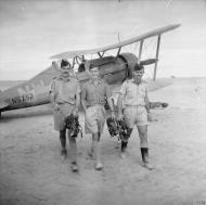 Asisbiz Gloster Gladiator II RAAF 3Sqn NWG N5752 at LG10 Gerawala Egypt 1940 IWM CM245