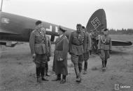 Asisbiz Heinkel He 111P Flugbereitschaft Norwegen N9+KA WNr 4956 escort Hitlers visit to Immola 4th Jun 1942 03