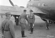Asisbiz Heinkel He 111p FdF escort with Adolf Hitlers visit to Immola 4th Jun 1942 01