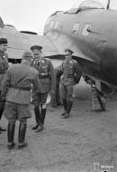 Asisbiz Heinkel He 111p FdF escort with Adolf Hitlers visit to Immola 4th Jun 1942 02