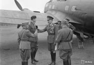 Asisbiz Heinkel He 111p FdF escort with Adolf Hitlers visit to Immola 4th Jun 1942 03