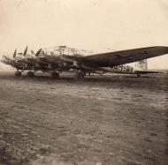 Asisbiz Heinkel He 115Z1 DG+DY WNr 2704 during engine run up winter 1943 44 01