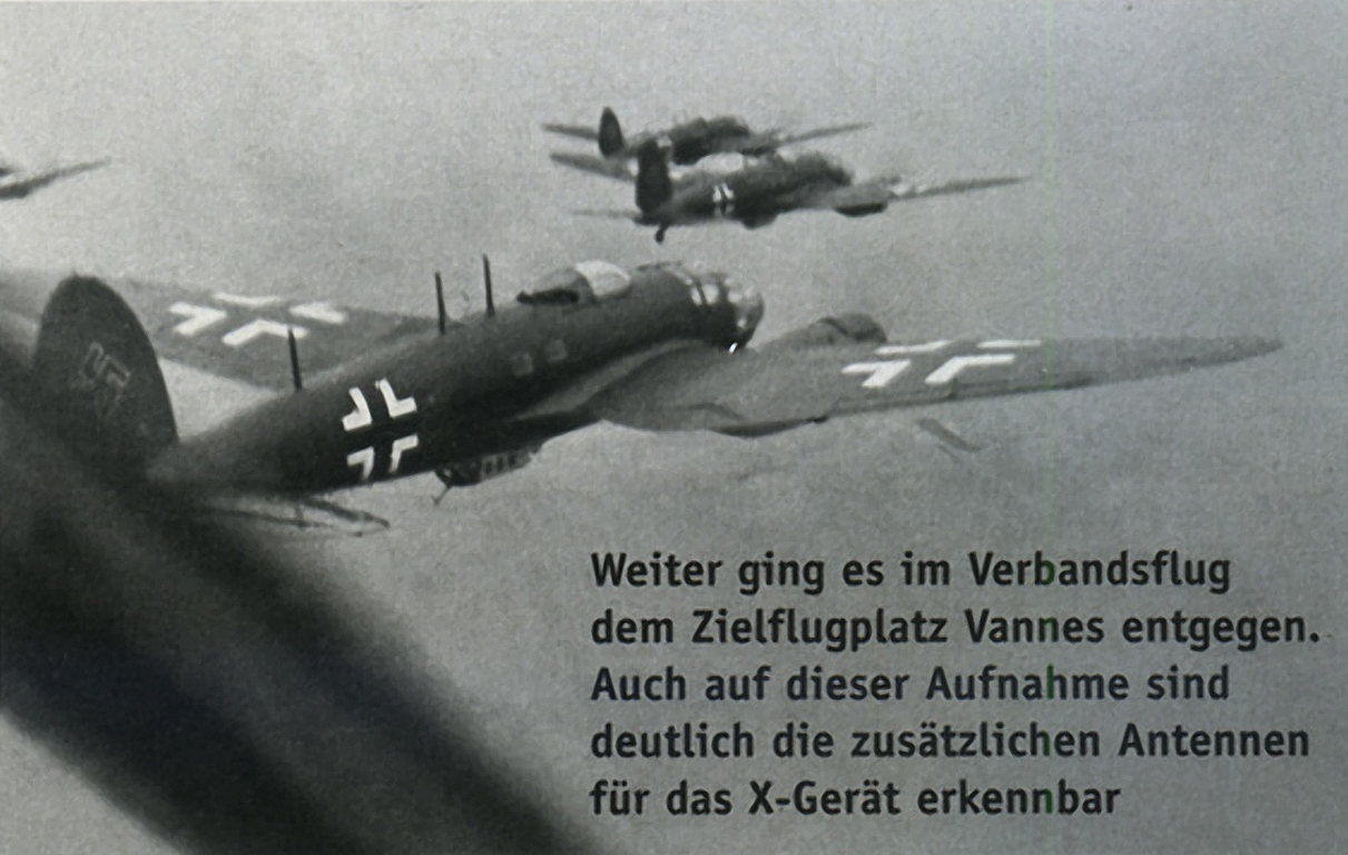 Heinkel He 111H 2.KG100 transfering to a new base 4th Aug 1940 02