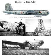 Asisbiz Heinkel He 177A5 5.KG100 6N+DN WNr 550131 at Aalborg Denmark Oct 1944 01