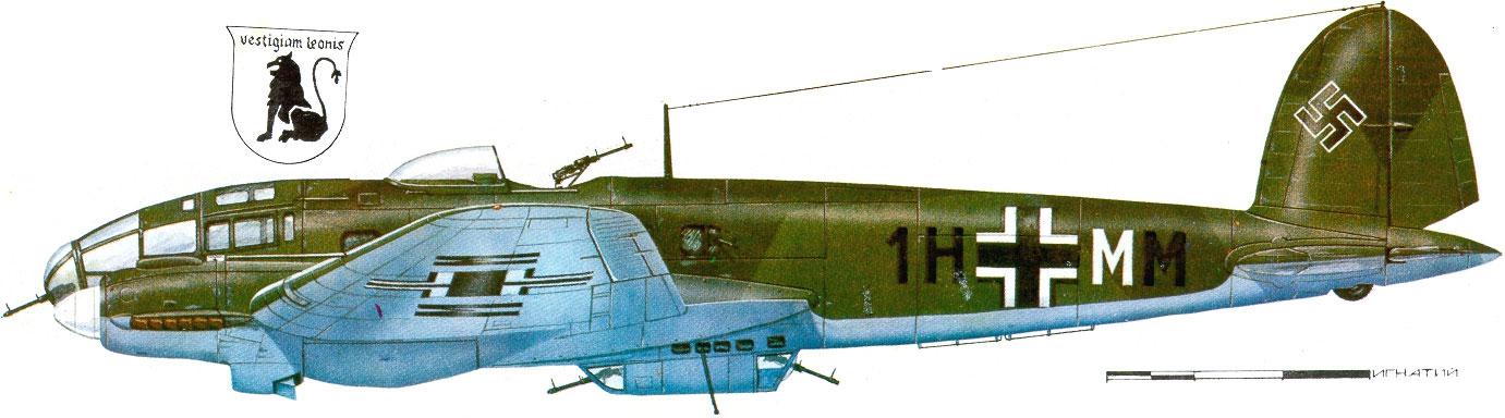 Heinkel He 111 KG26 1H+MM 0A