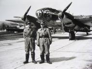 Asisbiz Heinkel He 111 3.KG26 1H+BL aircrew photo taken Kjevik airfield April 1940 FB1
