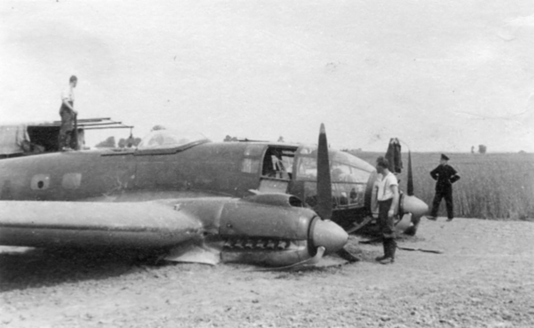 Heinkel He 111 KG27 force landed ebay 01