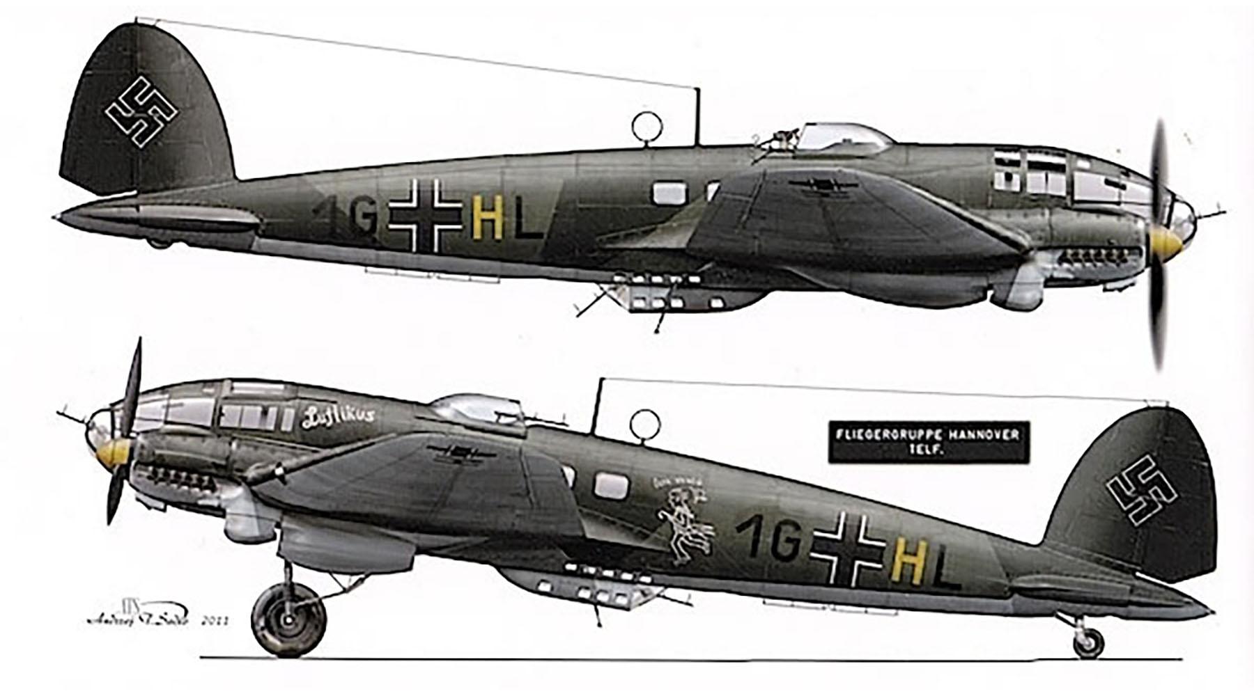 Heinkel He 111P2 3.KG27 1G+HL Luftikus Neukuhren Prussia Sep 1939 0A