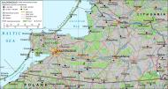 Asisbiz Artwork map showing Kaliningrad what use to be East Prussia 0A
