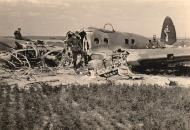 Asisbiz Heinkel He 111 KG27 1G+xx crash site ebay 01