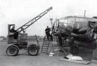 Asisbiz Heinkel He 111 Stab KG4 double engine change France 1940 01