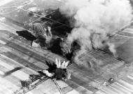 Asisbiz Luftwaffe aerial photo showing the bombing in Poland 1939 01