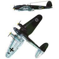 Asisbiz Heinkel He 111H 6.KG55 Yellow E France 1940 0B